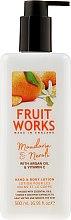 Kup Balsam do rąk i ciała Mandarynka i neroli - Grace Cole Fruit Works Hand & Body Lotion Mandarin & Neroli