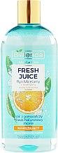 Nawilżający płyn micelarny z bioaktywną wodą cytrusową Pomarańcza - Bielenda Fresh Juice — фото N3