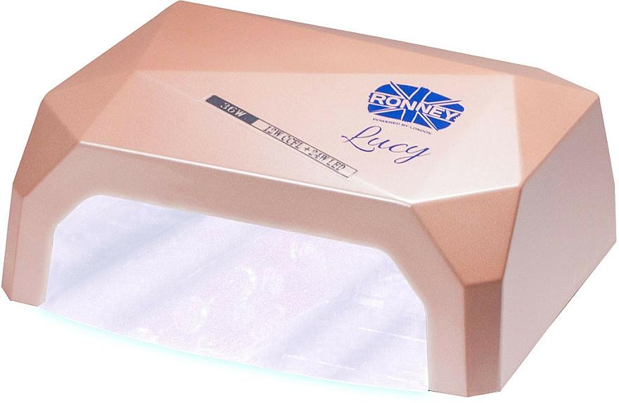 Lampa CCFL + LED, kawowa - Ronney Professional Lucy CCFL + LED 38W (GY-LCL-021) Lamp — фото N2