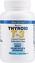 Kup Suplement diety Thyroid T-3 - Absolute Nutrition Thyroid T-3 Capsules