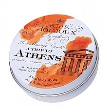 Kup Świeca do masażu Piżmo i paczula - Petits JouJoux Mini A Trip To Athens