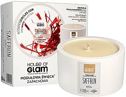 Kup PRZECENA! Modułowa świeca zapachowa - House of Royal Glam Saffron *