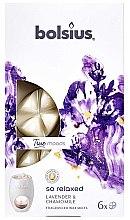 Kup Płatki zapachowe do kominka Lawenda i rumianek - Bolsius True Moods So Relaxed Lavender & Chamomile