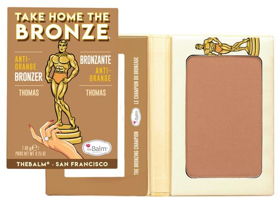 Bronzer do twarzy - TheBalm Take Home The Bronze