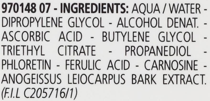Antyoksydacyjne serum z witaminą C do twarzy - Carita Les Precis 10% Vitamine C [+] Dipeptides Concentre — фото N4