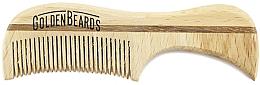 Kup Drewniany grzebień do wąsów, 7,5 cm - Golden Beards Eco Moustache Comb