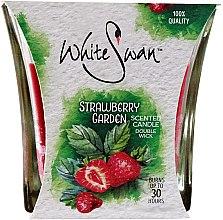 Kup Świeca zapachowa Malinowy ogród - White Swan Strawberry Garden