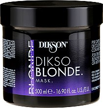 Kup Maska do włosów blond - Dikson Dikso Blonde Mask
