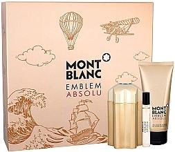 Kup Montblanc Emblem Absolu - Zestaw (edt 100 ml + sh/gel 100 ml + edt 7,5 ml)
