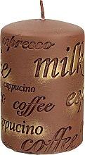 Kup Świeca zapachowa, 7 x 10 cm, brązowa - Artman Coffee