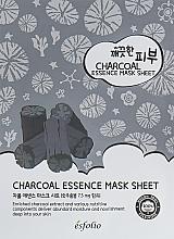 Kup Odżywcza maseczka w płachcie do twarzy z węglem aktywnym - Esfolio Pure Skin Essence Charcoal Mask Sheet