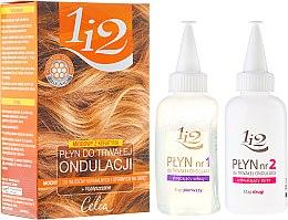Kup Miodowy płyn do trwałej ondulacji do włosów normalnych i odpornych na skręt - Celia 1 i 2