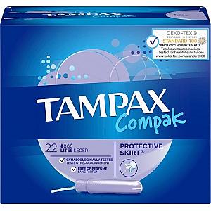 Tampony z aplikatorem, 22 szt. - Tampax Compak Light — фото N2