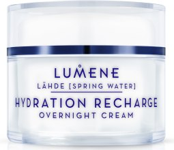 Kup Nawilżający krem na noc - Lumene Lahde [Spring Water] Hydration Recharge Overnight Cream