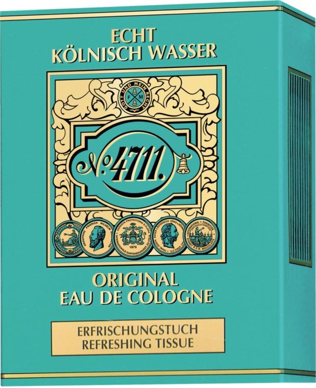 Maurer & Wirtz 4711 Original Eau de Cologne - Chusteczka odświeżająca — фото N2