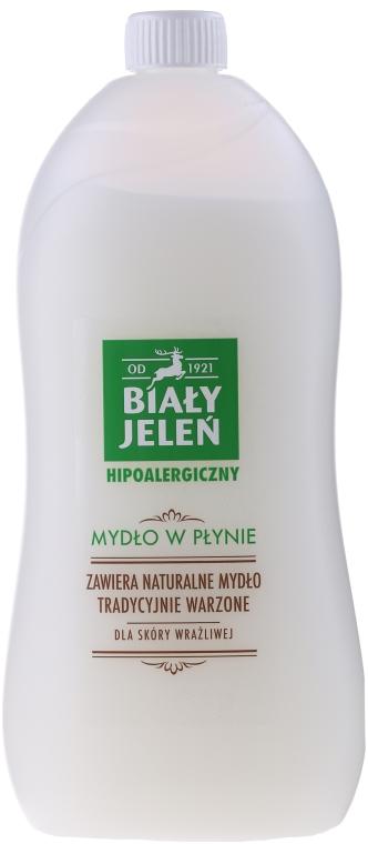 Hipoalergiczne mydło w płynie do skóry wrażliwej - Biały Jeleń (uzupełnienie) — фото N5