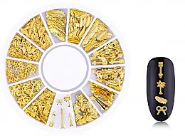 Kup Złote ozdoby do paznokci - Deni Carte