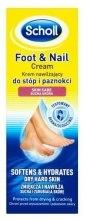 Kup Nawilżający krem do stóp i paznokci - Scholl Moisturizing Foot And Nail Cream