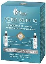 Kup Ekspresowa 14-dniowa kuracja przeciwzmarszczkowa - AVA Laboratorium Pure Serum Efekt redukcji zmarszczek