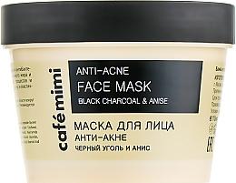 Kup Przeciwtrądzikowa maseczka do twarzy - Cafe Mimi Face Mask