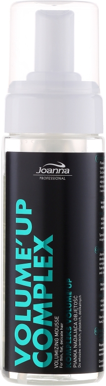 Pianka nadająca włosom objętość - Joanna Professional Kompleks Volume'Up