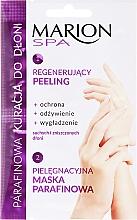 Kup Parafinowa kuracja do dłoni Regenerujący peeling + maska parafinowa - Marion Spa