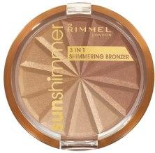 Kup Puder brązujący 3 w 1 - Rimmel Sunshimmer 3in1 Shimmering Bronzing Powder
