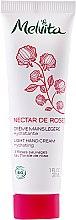Kup Lekki krem nawilżający do rąk - Melvita Nectar de Roses Light Hand Cream
