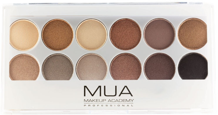 Paletka cieni do powiek - MUA Undress Me Too Eyeshadow Palette