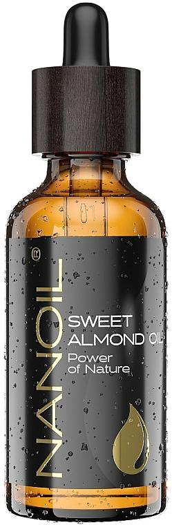 Olej ze słodkich migdałów - Nanoil Body Face and Hair Sweet Almond Oil