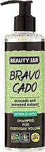 Kup Szampon do włosów dodający objętości - Beauty Jar Bravo Cado Natural Shampoo
