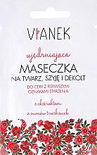 Kup Ujędrniająca maseczka na twarz, szyję i dekolt - Vianek Seria czerwona ujędrniająca