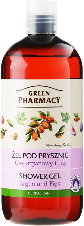 Żel pod prysznic Olej arganowy i figi - Green Pharmacy Body Care