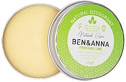 Kup Naturalny dezodorant w kremie - Ben & Anna Persian Lime Soda Cream Deodorant
