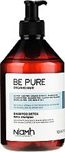 Kup Detoksykujący szampon do włosów przetłuszczających się - Niamh Hairconcept Be Pure Detox Shampoo