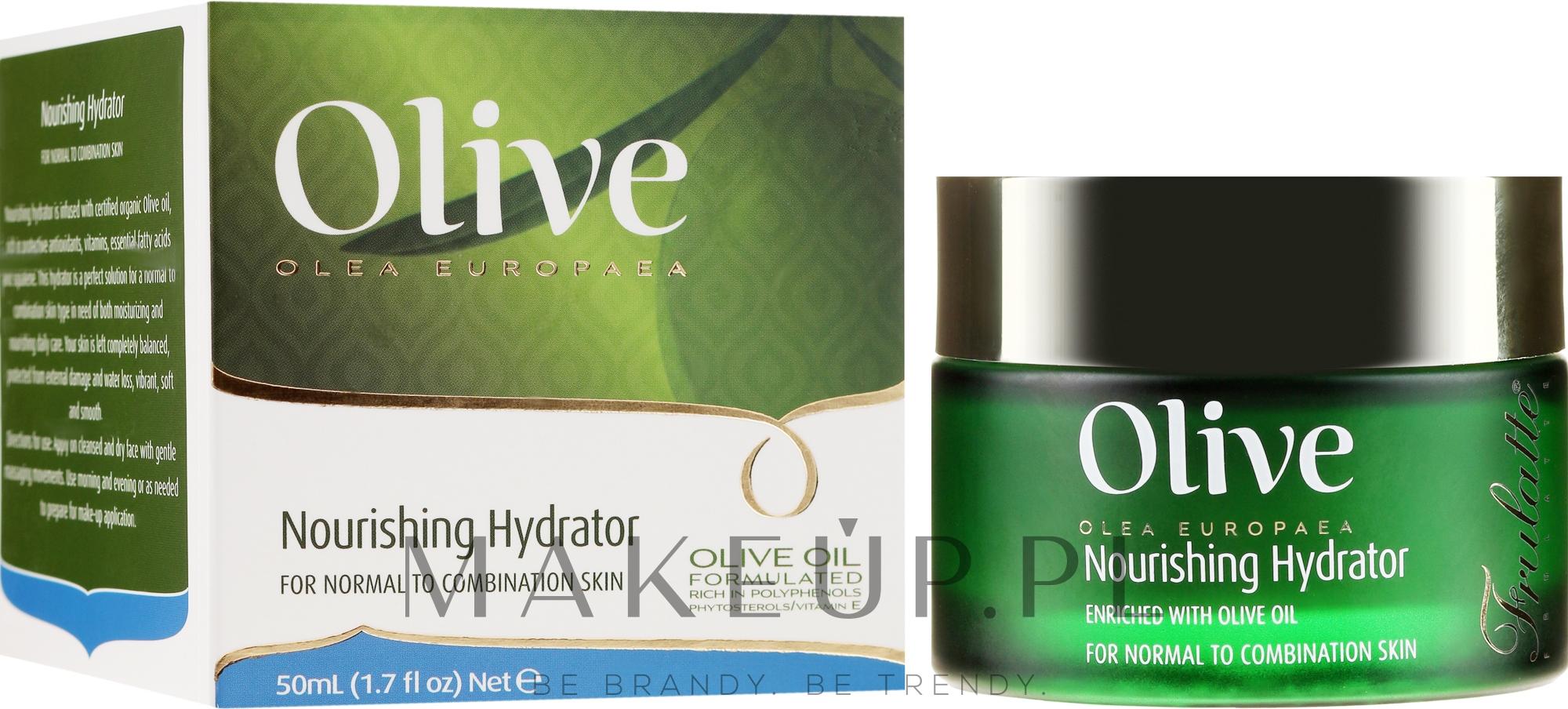 Odżywczy krem do twarzy - Frulatte Olive Oil Nourishing Hydrator — фото 50 ml