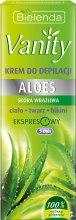 Kup Aloesowy krem do depilacji skóry wrażliwej - Bielenda Vanity