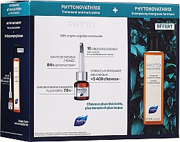 Kup Zestaw - Phyto PhytoNovathrix Anti-Hair Loss Program Treatment (shm 200 ml + treat 12 x 3,5 ml )