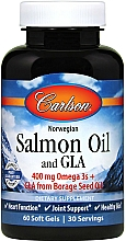 Kup Kapsułki z olejem z łososia - Carlson Labs Salmon Oil and GLA