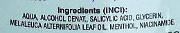 Przeciwtrądzikowy alkohol salicylowy do twarzy Drzewo herbaciane i mentol - Bione Cosmetics Antakne Salicylic Spirit Tea Tree and Menthol — фото N3