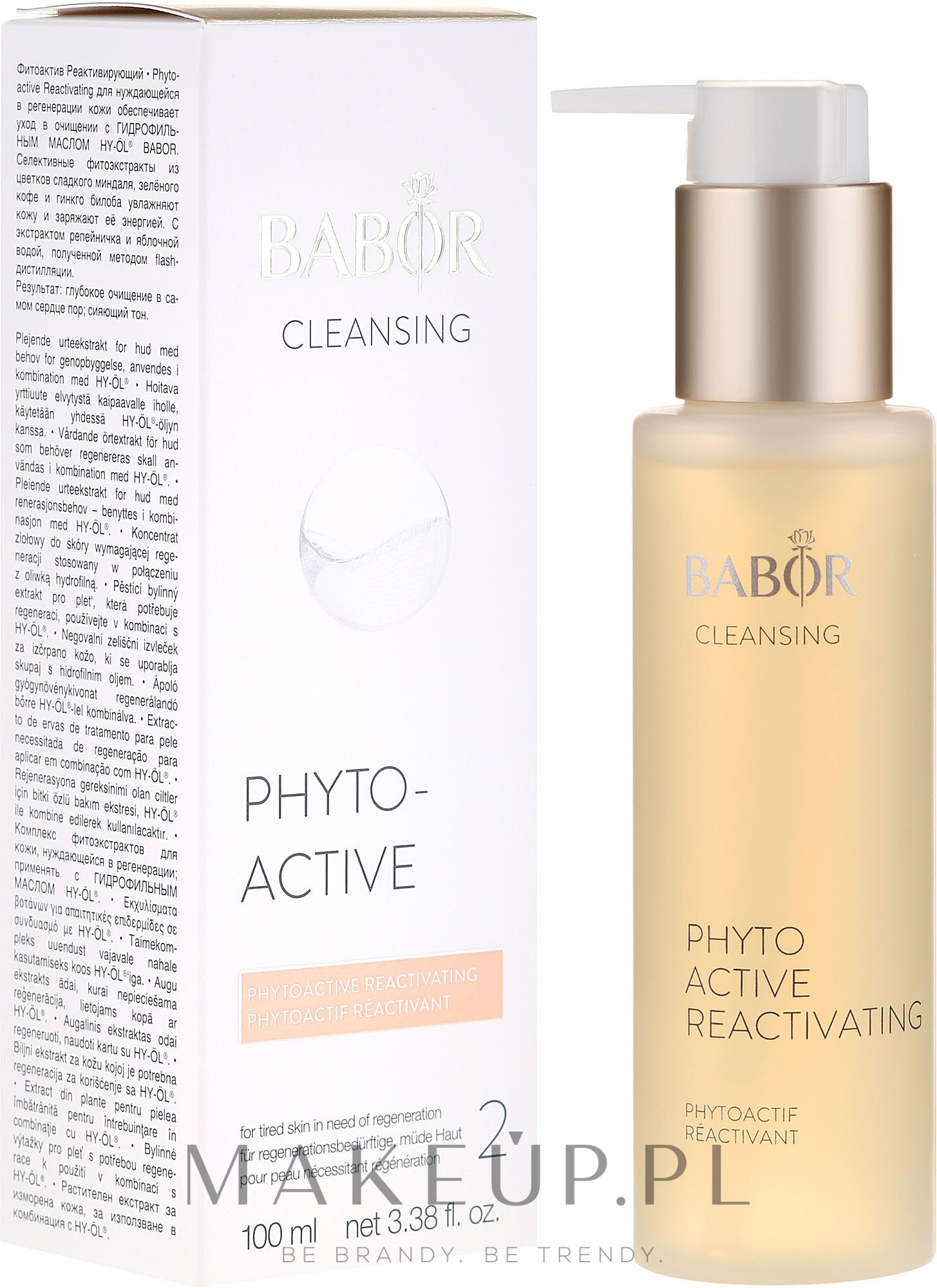 Fitoaktiv Reaktywujący - Babor Cleansing Phytoactive Reactivating — фото 100 ml