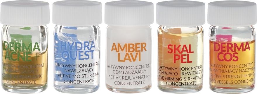 Zestaw aktywnych koncentratów do pielęgnacji skóry - Farmona Professional (10 x concentrate 5 ml) — фото N2