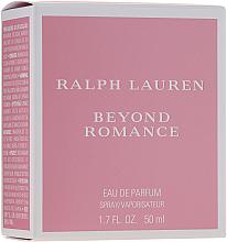 Kup PRZECENA! Ralph Lauren Beyond Romance - Woda perfumowana *