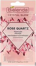 Kup Maseczka, primer nawilżająco- rozświetlająca Różowy kwarc - Bielenda Crystal Glow Rose Quartz