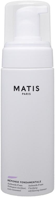 Pianka oczyszczająca do mycia twarzy - Matis Reponse Fondamentale Authentik-Foam — фото N1