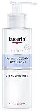 Kup Oczyszczające mleczko do skóry suchej i wrażliwej - Eucerin DermatoClean Hyaluron Cleansing Milk