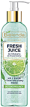 Kup Detoksykujący żel micelarny do twarzy z bioaktywną wodą cytrusową - Bielenda Fresh Juice