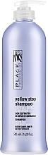 Kup Szampon przeciw żółceniu się siwych i jasnych włosów - Black Professional Line Yellow Stop Shampoo