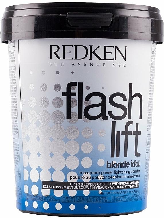 Proszek rozświetlający do włosów - Redken Blonde Idol Flash Lift Lightening Powder — фото N1