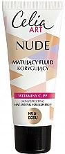 Kup Matujący fluid korygujący - Celia Nude Mattifying Foundation